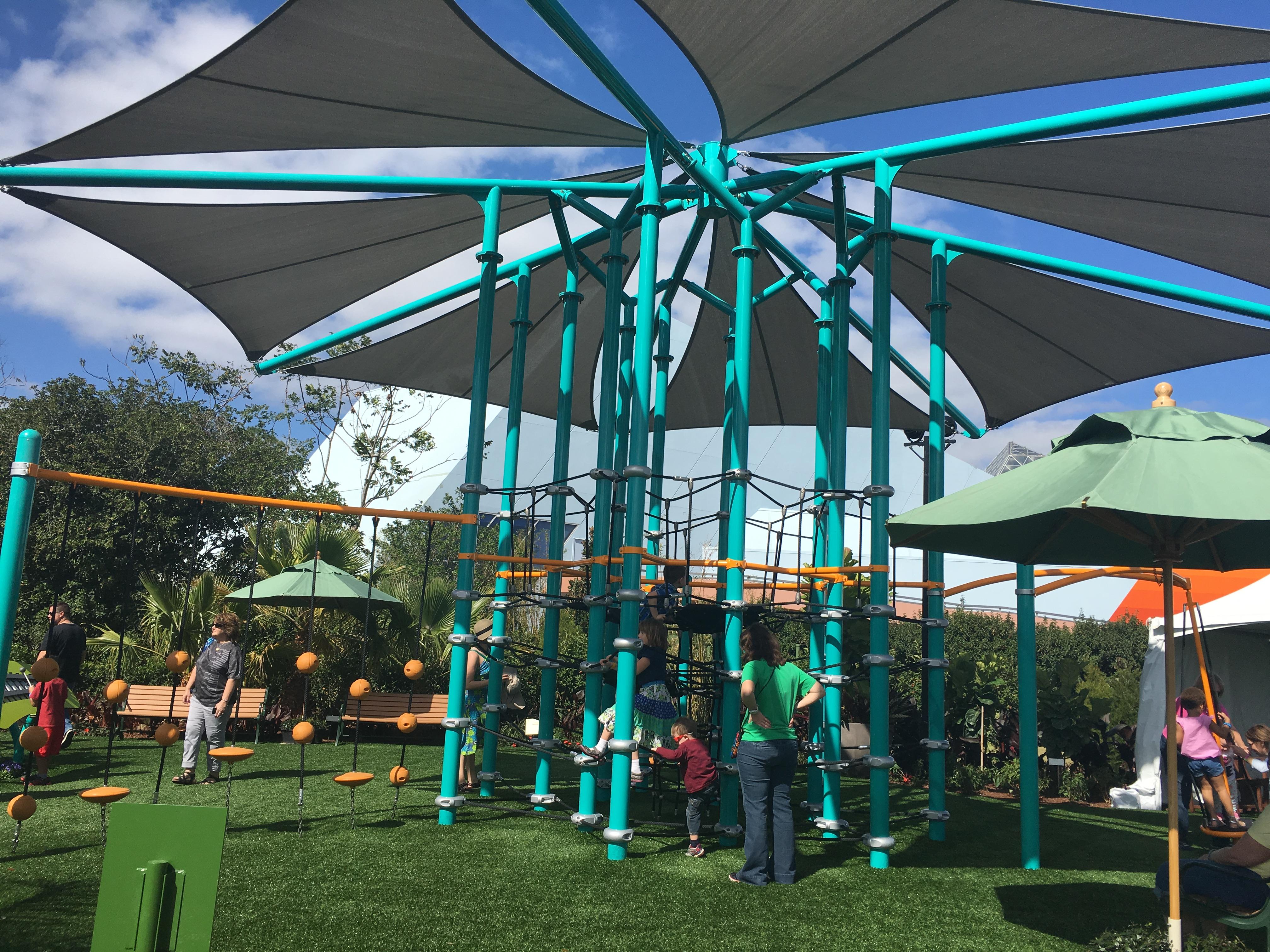 Epcot Flower and Garden Festival Playground at Walt Disney World in Orlando, FL