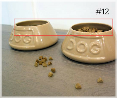 Cleaning tip: Do not forget to clean your pet food bowls