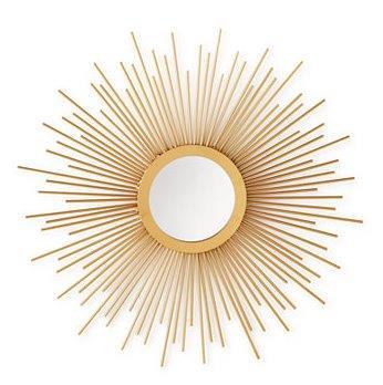 Top apartment decor accessories Sunburst Mirror_Macys