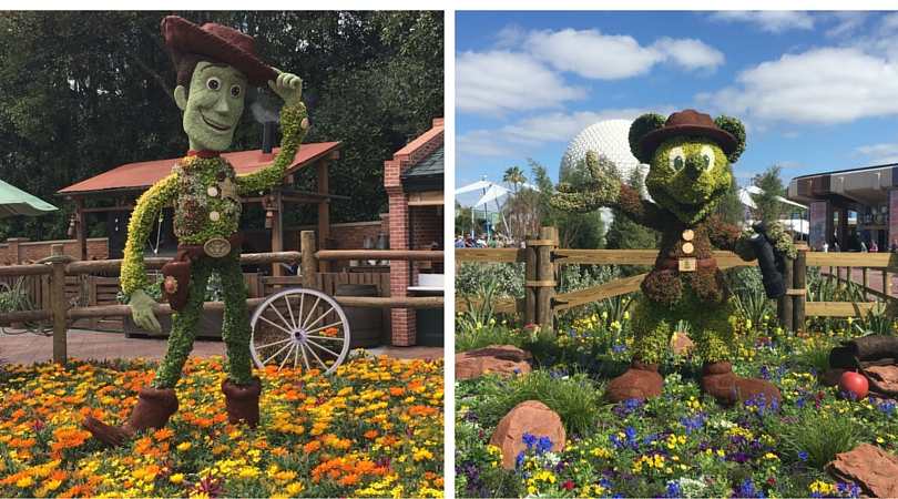 Epcot Flower and Garden Festival at Walt Disney World in Orlando, FL