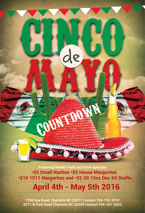 Places To Eat And Party On Cinco De Mayo In Charlotte Nc