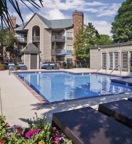 Camden Foxcroft II Apartments in Charlotte, North Carolina