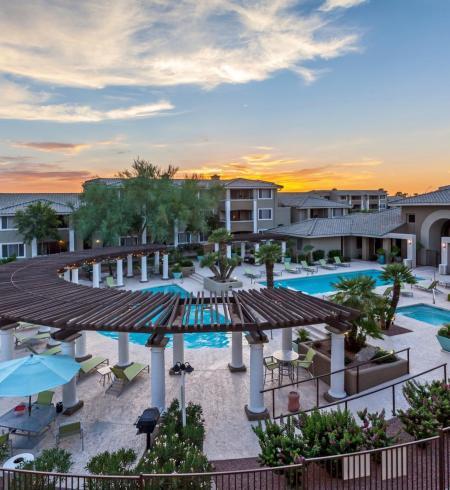 Camden San Marcos apartments in Scottsdale, Arizona.