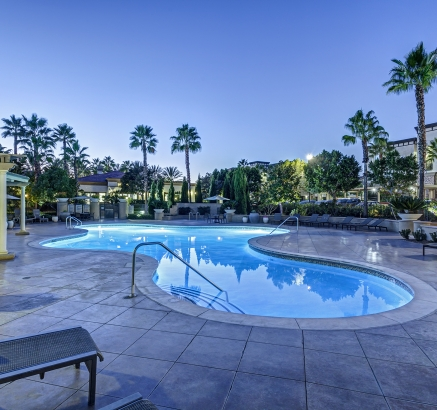 Camden Landmark apartments in Ontario, California.