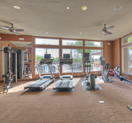 Camden Sotelo fitness center in Tempe, Arizona.