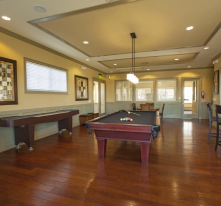 Game Room at Camden South Bay Apartments in Corpus Christi, Texas