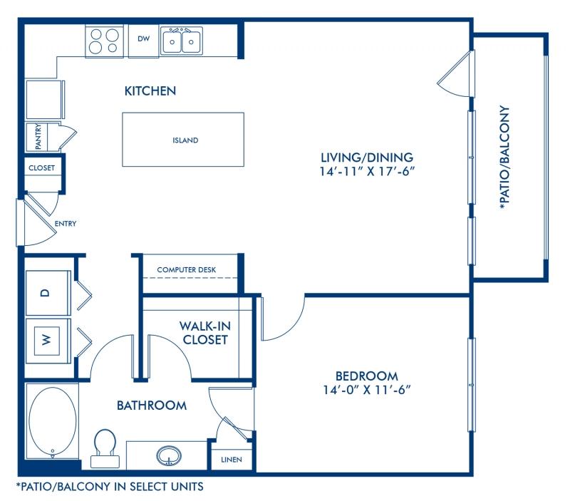 Studio, 1 & 2 Bedroom Apartments In Dallas, TX