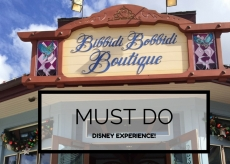 Must Do Disney Experience - Bibbidi Bobbidi Boutique
